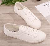 Zapatos de moda de vestido del alto talón tapa de metal (Hcy02-047)