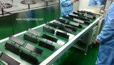 Línea de recubrimiento UV transportada con huso de metalización al vacío