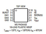 La tensione in ingresso larga sincrona Buck-Amplifica il circuito integrato del convertitore CI di DC/DC