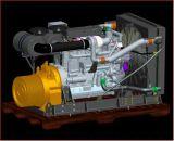 ポンプまたは非道の移動式装置または構築機械装置のためのディーゼル機関+ポンプドライバー力アセンブリパッケージ