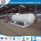 Прямые связи с розничной торговлей 10 фабрики Clw, завод цилиндра 000L LPG заполняя, станция скида 10cbm LPG для Нигерии