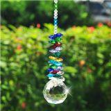 parels van het Glas van de Prisma's van de Tegenhangers van Suncatcher van het Kristal van de Decoratie van het Huis van de Delen van de Kroonluchter van de Toebehoren van de Bal van 40mm de Aanstekende Mooie