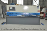 QC11k 6*3200 유압 CNC 단두대 깎는 기계