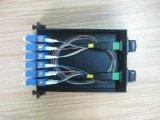 광섬유 24의 코어 LC Sm LSZH 엘리트 MPO 접속 코드