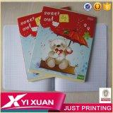 Kind-Übungs-Buch-Schule-Notizbuch mit Karton-Deckeln