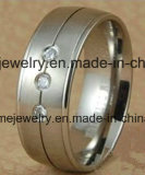 Anillos de acero Titanium al por mayor 316L (TR1819)