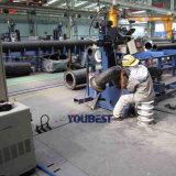 Tubo de acero automático de la máquina de soldadura del codo