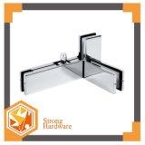 Encaixes de vidro quentes da correção de programa da parte superior da porta do aço inoxidável da venda