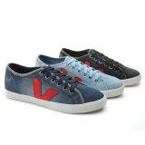 2017 neues Menshoes Segeltuch-beiläufige vulkanisierte Jean-Form-Mann-Sport-Schuhe