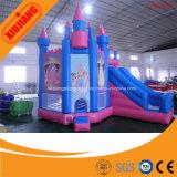 Прокаты спортивной площадки напольного оживлённого замока раздувные для партии детей