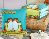 Manta al aire libre del algodón del amortiguador del sofá de tiro de la manta de lino de múltiples funciones de la almohadilla