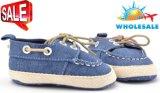2017の卸し売り新しい偶然靴の柔らかい靴底の屋内幼児の赤ん坊靴