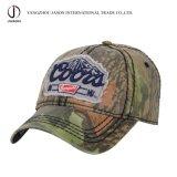 洗浄された野球帽のスポーツの帽子の綿の帽子のゴルフ帽の方法帽子のカムフラージュの帽子