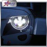 Viga alta-baja brillante estupenda 45W alrededor de la linterna de 7 pulgadas LED para la motocicleta de Harley del Hummer del jeep