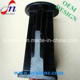 Stahlhalter mit dem Schwarzen stempeln angestrichen