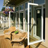 Aluminiumflügelfenster-Fenster mit reflektiertem Glas-/Aluminiumwindows (NH50)