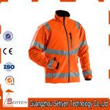куртка безопасности водоустойчивой померанцовой видимости зимы высокой отражательная