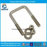 ステンレス鋼、合金鋼鉄、鋼鉄、黄銅は、U字型ボルトのU字型ボルトに電流を通した