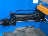 Freio da imprensa hidráulica de aço inoxidável do CNC de We67k, máquina de dobra de alumínio da placa