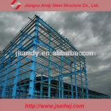 Almacén prefabricado de la estructura de acero del palmo grande del marco del espacio del diseño