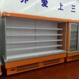 압축기 슈퍼마켓 전시를 위한 열려있는 Multideck 냉각장치를 연결하십시오