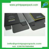 Rectángulo de papel cosmético de sellado caliente modificado para requisitos particulares del rectángulo del perfume del mustango