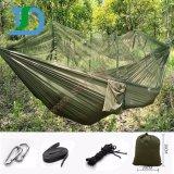 barraca de acampamento alargada 260*140cm do Hammock com rede de mosquito