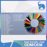 Het Koreaanse Vinyl van de Overdracht van de Hitte van het Kledingstuk Pu voor Verkoop