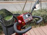 페이지 관제사를 가진 연장자 4 바퀴 기동성 전기 스쿠터