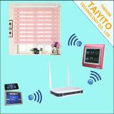 Cortinas cegas verticais motorizadas elétricas automáticas para a HOME esperta