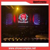 Afficheur LED de location polychrome extérieur pour le concert avec le panneau léger (pH4.81)