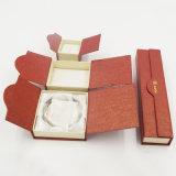 Cadre de montre gravé en relief d'étalage de papier de carton d'impression (J30-E)