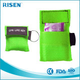 La máscara de respiración más barata del CPR del precio con Keychain