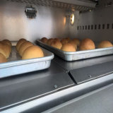 2 갑판 4 쟁반 고품질 빵집 장비 일반적인 전기 오븐