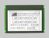type graphique de dent de l'écran LCD 240X160 module d'affichage à cristaux liquides (LM240160G) avec l'écran tactile