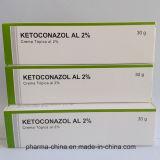 Crema el 2% 30g de Ketoconazole de la medicina del GMP