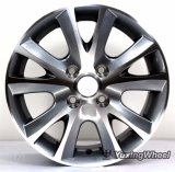 Roda de alumínio da roda da liga do carro com 14 polegadas
