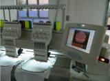 二重ヘッドマルチカラーは管状の刺繍機械良質マルチ機能刺繍機械Wy1202をコンピュータ化した