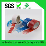 La cinta de la seguridad de la transferencia del total de la alta calidad con vacío abierto imprimió