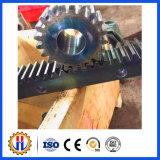 Crémaillère faite sur commande de pièces de rechange d'élévateur de construction et crémaillère d'acier inoxydable de pignon