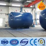 De horizontale of Verticale Tank van de Opslag van het Vloeibare Gas van het Water (100-5000L)
