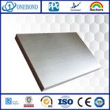 Panneau décoratif Honeycomb en acier inoxydable 304
