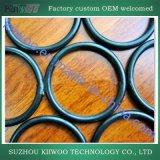 Joint circulaire en caoutchouc moulé par fabrication d'usine pour le cachetage