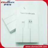 De Witte Kabel van de Kabel USB van de Lader van de Kleur TPE voor iPhone met Pakket