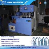 Machine de soufflement de l'acier inoxydable 4-Cavity de bouteille semi-automatique de moulage