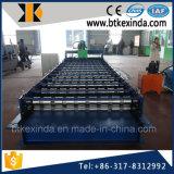 Máquina de fabricación de placa de acero de aluminio del trapezoide de Kxd C18 para Rusia
