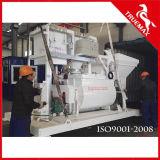 Mini máquina estacionária de lotes de betoneira preparada para 25m3 / H