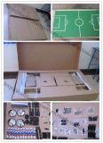 硬貨はMDFのサッカーのビリヤード台のフットボール表セットを作動させた