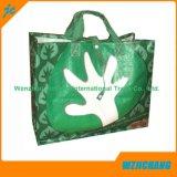 Pp.-mehrfachverwendbarer Beutel für den Einkauf mit Silk Bildschirm-Drucken