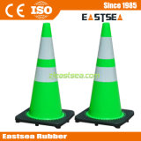 28inch Couleur Vert Reflective PVC Road Traffic Cone
